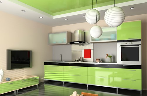 Glass Kitchen draws green by Metro Glass