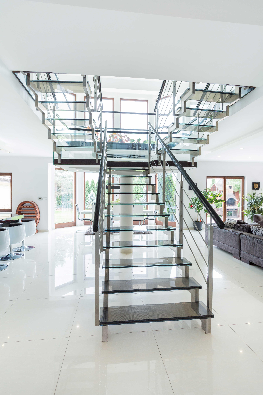 Stairs Metro Performance Glass