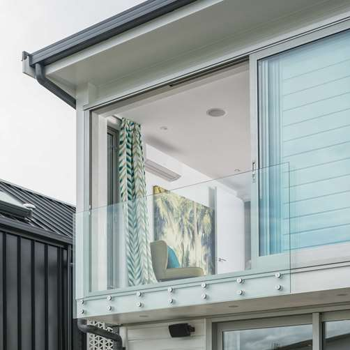 Outdoor Balustrades Metro Performance Glass