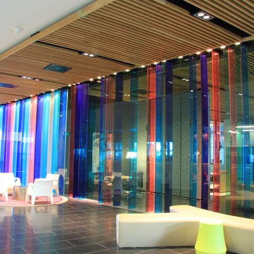 Decorative Laminated Glass 2