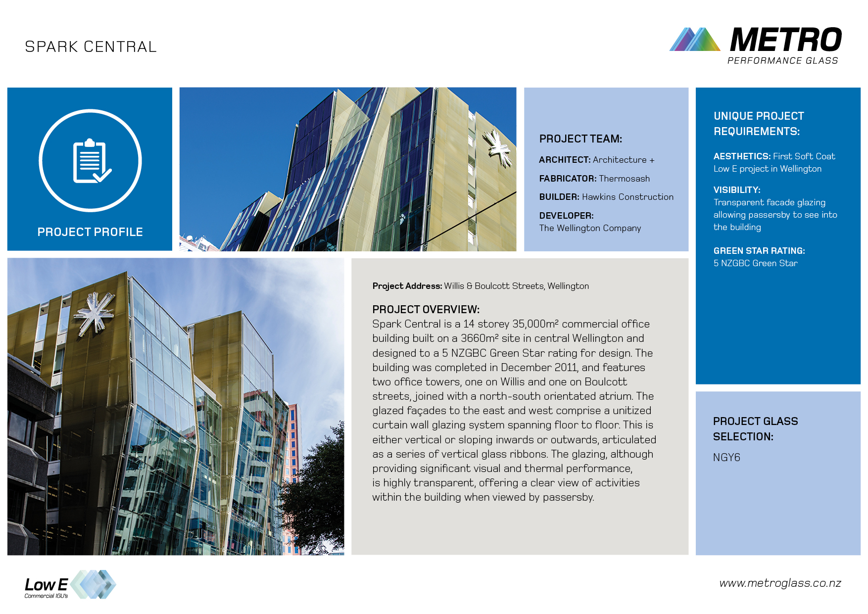 Profiles Metro Performance Glass