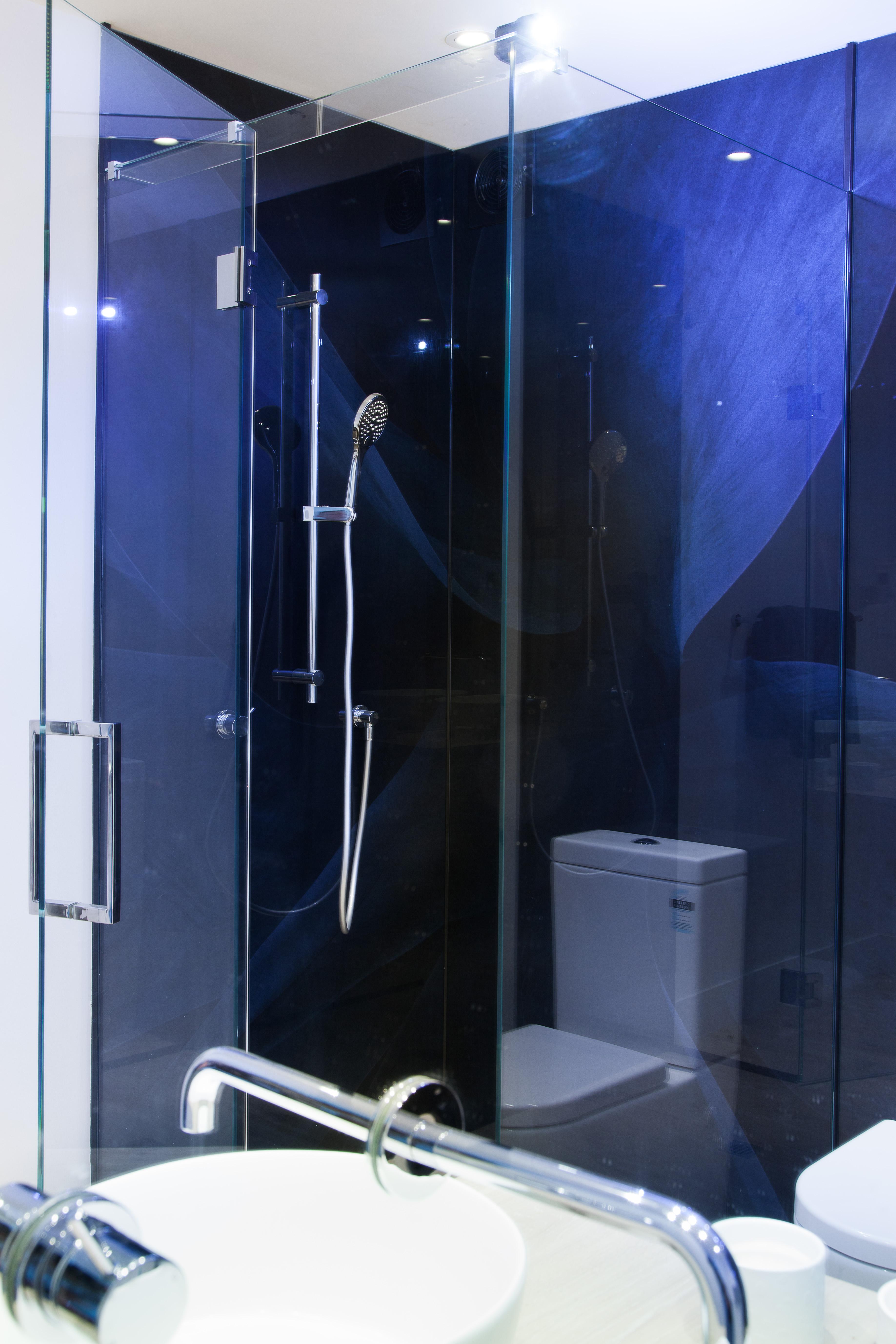 Inline Shower Metro Performance Glass New Zealand