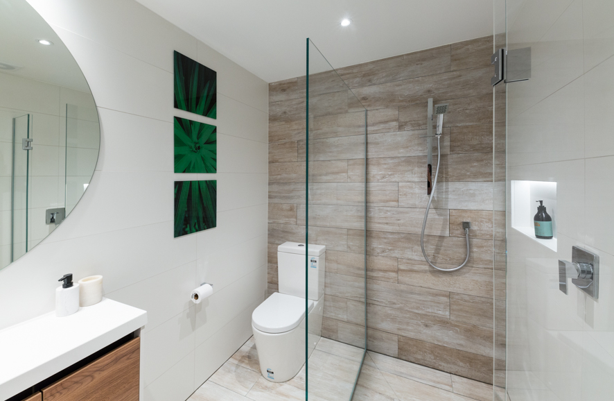 Two Sided Shower | Metro Performance Glass New Zealand
