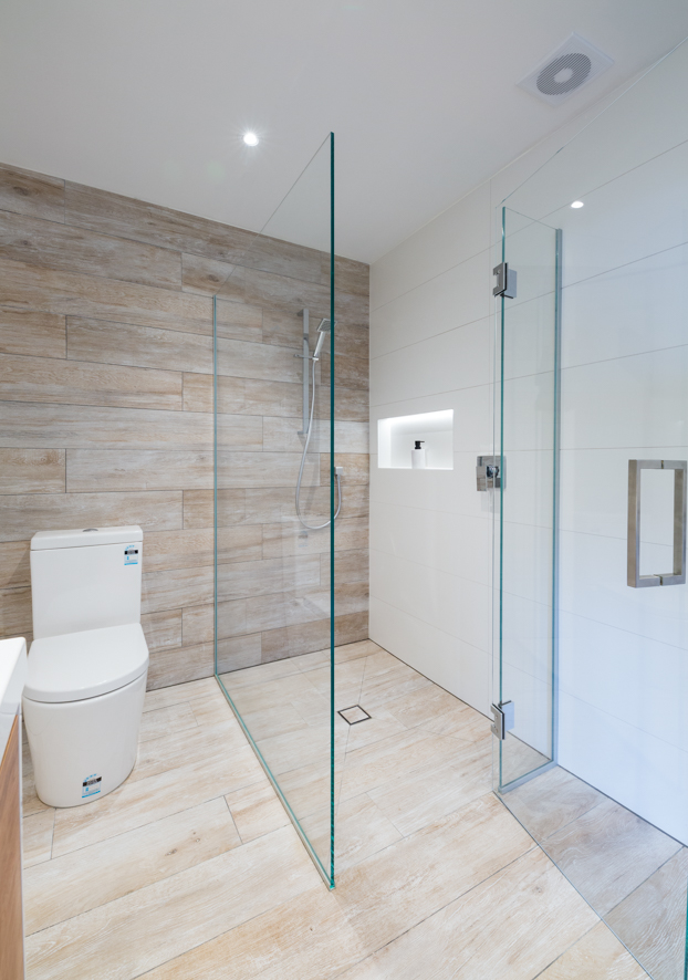 Two Sided Shower Metro Performance Glass New Zealand