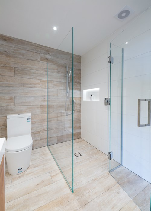 Two Sided Shower Metro Performance Glass