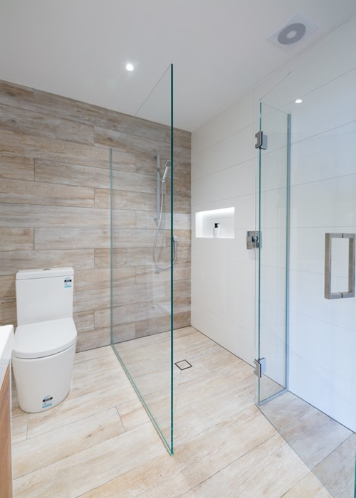 Two Sided Shower