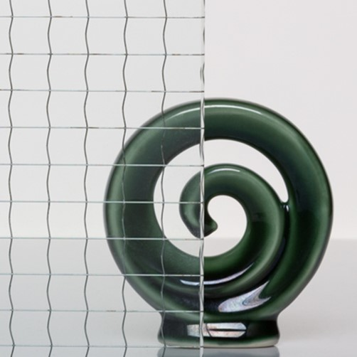 Polished Georgian Wired Glass
