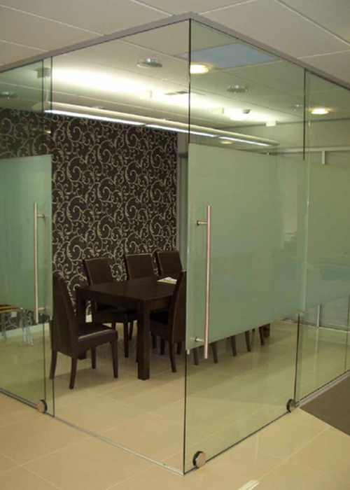 Commercial Doors Linear 100 & 153 – Sliding Door System